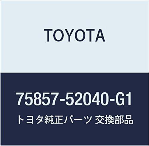 Genuine Fashion Toyota 75857-52040-G1 Rocker Cover Nippon regular agency Molding Panel