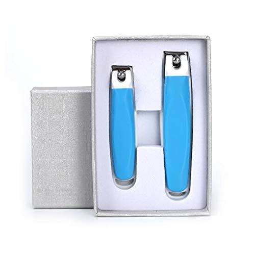 Cuticules Cutter Cuticules Trimmer Manucure Outils Double Ressorts Poignée Pédicure Outil Épais Ongle Sharp Cuticules Pousseurs Épais Ongle blue