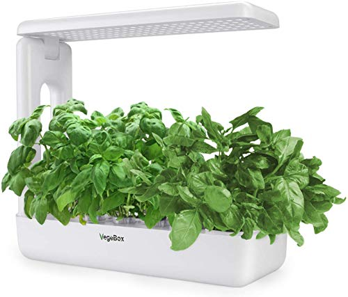 VegeBox Sprout LED Indoor Hydroponics Growing System, Smart LED Lighting...