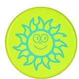 BangShou Frisbee Suave Niños del Disco Volador Frisbee con Patrón de Dibujos Animados para Niños Deportes (Sol Verde)