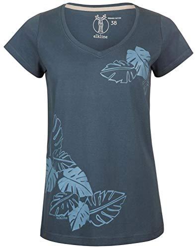 Elkline Natürlich T-Shirt Damen darkblue Größe EU 40 2019 Kurzarmshirt