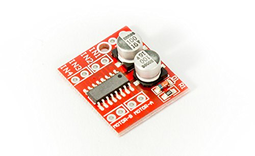 DC Motor Driver Steppermotortreiber, Motor Treiber, Module Speed Dual H-Bridge Stepper 1.5A 2-Way L298N für 3D-Printer Arduino Prototyping