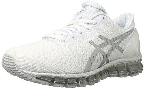 ASICS Women's Gel-Quantum 360 Running Shoe, White/Lightning/Snow, 9.5 M US
