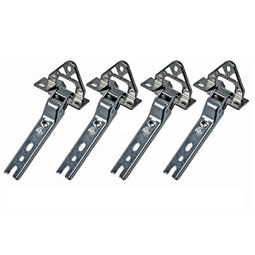 4x Türscharnier Tür Scharnier Kühlschrank Bosch Siemens 268700