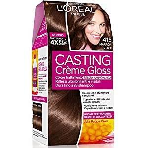 L'Oréal Paris Casting Creme Gloss ohne Ammoniak, N415 Maron Glace.