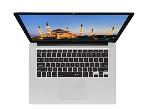 KB Covers Turkish Keyboard Cover - langlebige Tastaturabdeckung, türkisches Layout, abwaschbar - für MacBook Pro Late 2016+ mit w-Touch Bar, Silber TUR-MTB-Silver