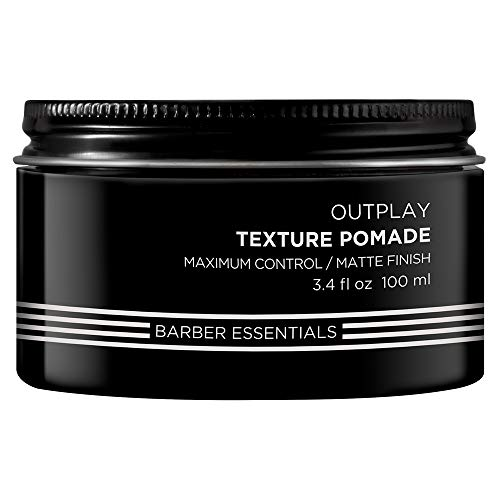 Redken Brews Texture Pomade For Men, 3.4 Fl Oz