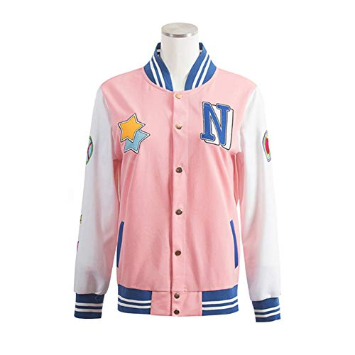 COSPROFE Anime Baseball Jacket Hazuki Nagisa Cosplay High School Uniform Costume (M)