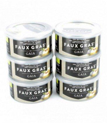 Lot de 6 Faux Gras de Gaia bio et sans huiles de palme