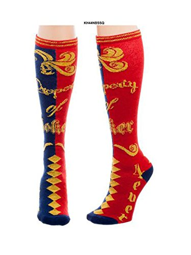 DC Comics Suicide Squad Harley Quinn Property of Joker - Knee High Socks