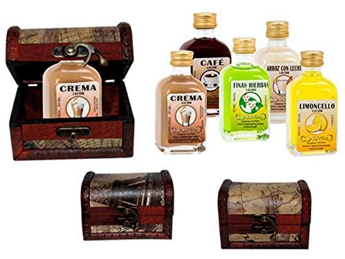 Lote de 10 Botellas de Licor la Rivera (Surtidas) en Baúl de...