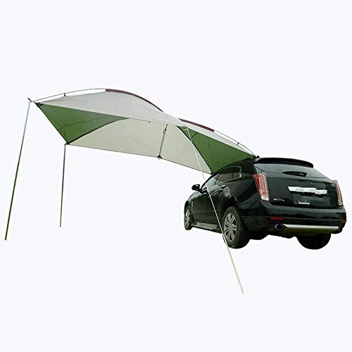 LLSS Roof Tent Outdoor Camping Portable Car Side Roof Top Self-Driving Travel Equipment Rainstorm Suv Car Sunshade Tent Color6