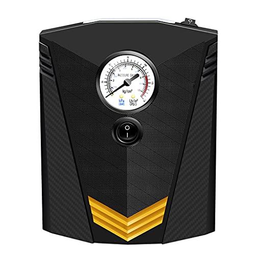 SLATIOM Inflador de neumáticos Digital DC Bomba compresor Aire portátil 12 voltios para automóvil Compresor 150 PSI (Color : Pointer Style)