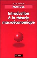 Introduction à la théorie macro-économique de Redslob