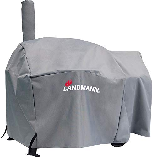 Landmann Premium Wetterschutzhaube | Aus robustem Polyestergewebe & Wasserdicht | UV-beständig, Atmungsaktiv & Kältebeständig | Geeignet für den Vinson 200 [93 x 147 x 125 cm]