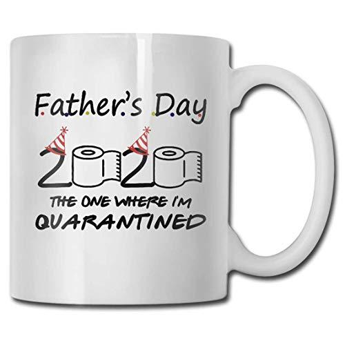 Tazza Festa del papà 2020 Quella in cui eravamo in quarantena Tazza Novità Papà Tazza da caffè in ceramica