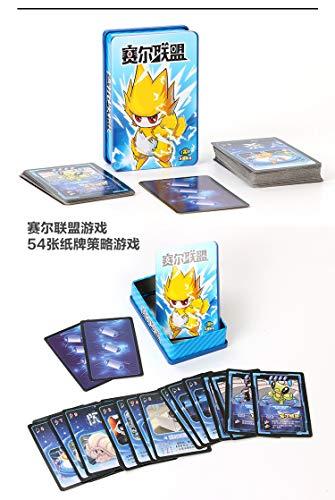 gengyouyuan Juegos de Cartas Verdad o Dare Card Hombre Lobo Juego Casual Fiesta encubierta Jugando Cartas