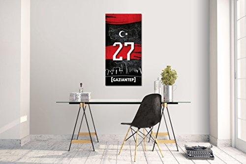 Wandtattoo Wandsticker Aufkleber Gaziantep 27 Plaka Türkiye Grösse: 120 x 60 cm