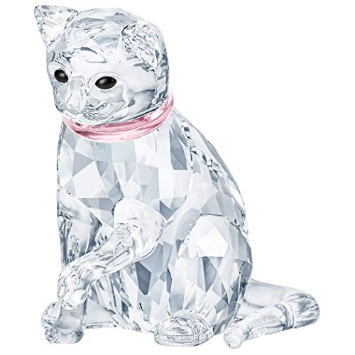 Swarovski Catmother Crystal Clear 4.9cm