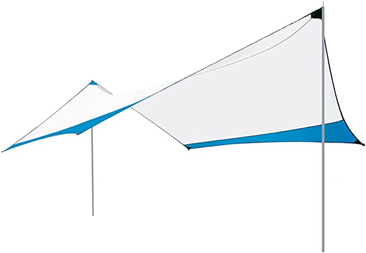 ZP Tente, extérieur Grand auvent imperméable à l'eau extérieur de Tente d'auvent imperméable de Camping-Car de pergola multijoueur huwaizhangpeng