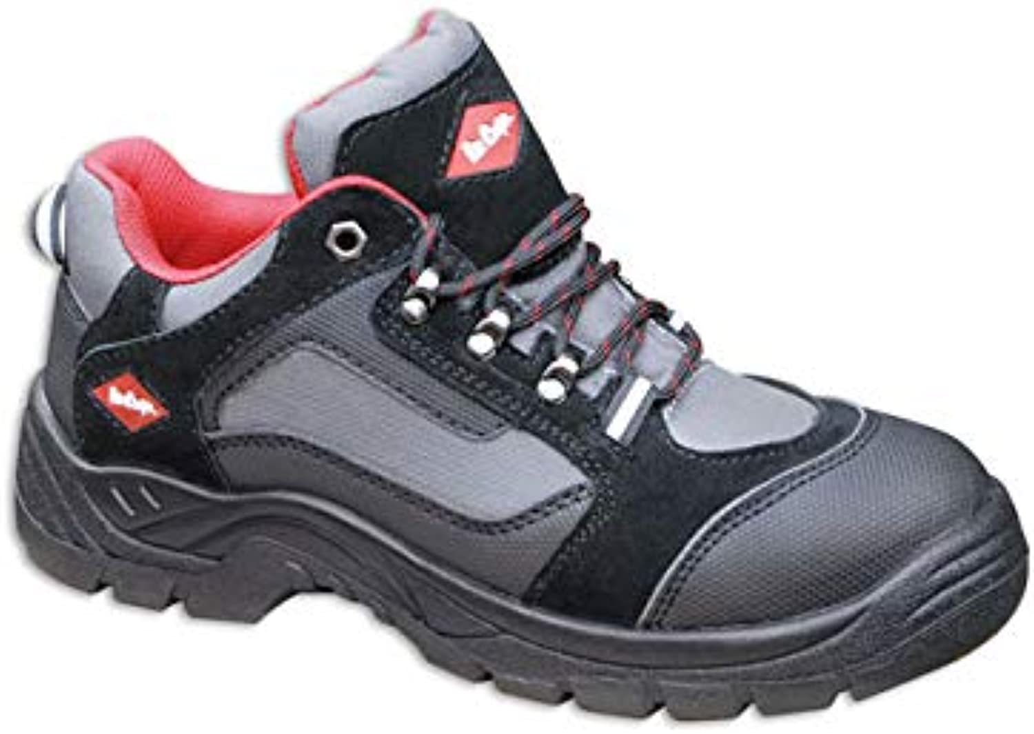 LEE COOPER LC048 TRAINER STYLE STEEL TOE SAFETY WORK SHOES (UK 8  EU 42)