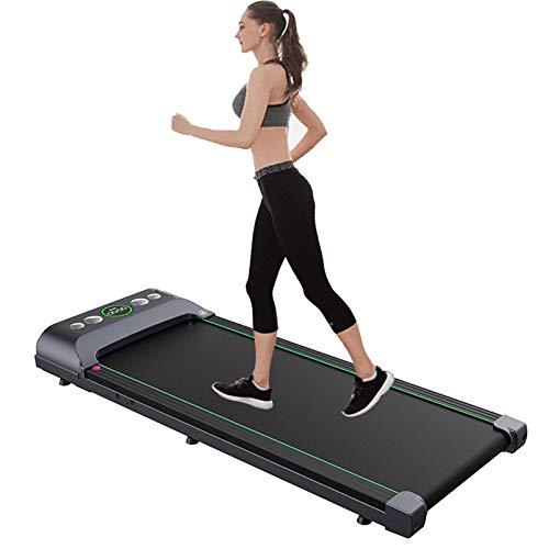 CCJW La cinta de correr eléctrica de la familia es adecuada para el ejercicio de fitness para la oficina para el gimnasio Kshu