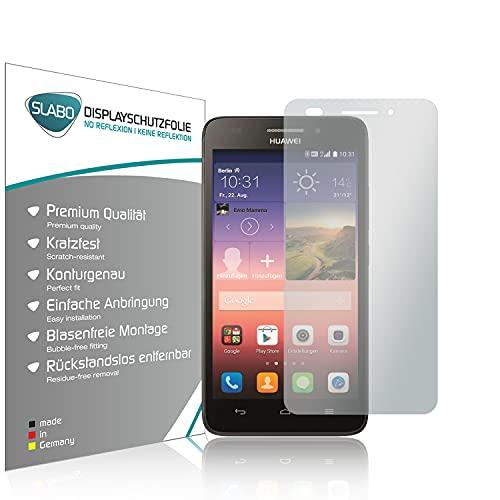 Slabo 4 x Bildschirmschutzfolie für Huawei Ascend G620s Bildschirmfolie Schutzfolie Folie Zubehör No Reflexion MATT