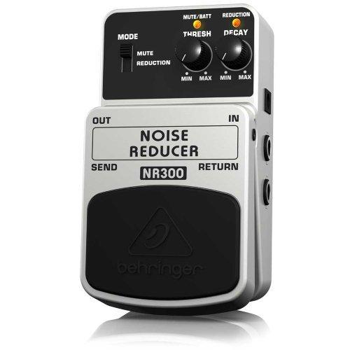 Behringer NR300 Noise Reducer Ultimate Noise Reduction Effects pedaal Voeding baby kinderen