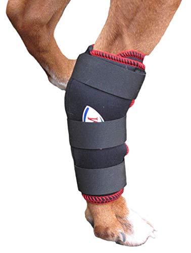 TSM 7530-S Vet-Reha Hund Rehabandage für das Hinterbein, S, schwarz