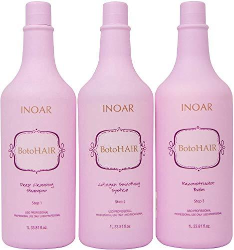 Brasilianisches Haar Botox-Behandlung (Kunststoff Haar) - INOAR