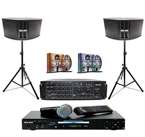 Altavoz y amplificador para máquina de karaoke