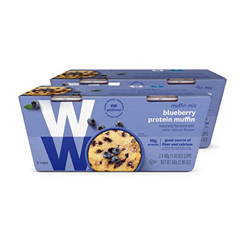 WW Blueberry Muffin Mug Cake - 3 SmartPoints - 2 Boxes (4 Count Total)