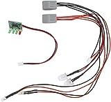 JLZK V007 Piezas V007-10 Sistema de la luz e indicador de batería Adecuada for Flytec V007 atraer a los Peces Cebo Accesorios Barco Seguridad