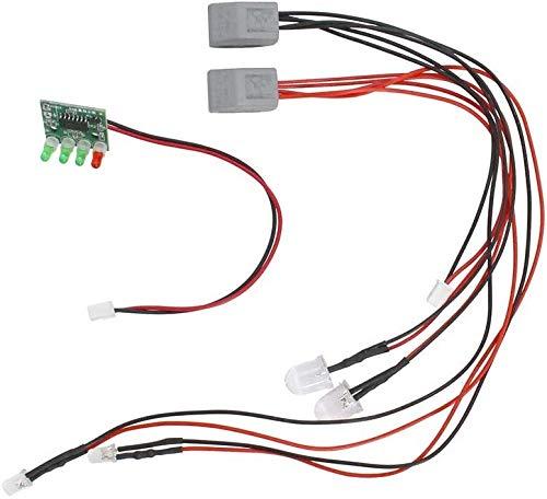 DressU Duradero V007 Piezas V007-10 Sistema de la luz e indicador de batería Adecuada for Flytec V007 atraer a los Peces Cebo Accesorios Barco Robusto