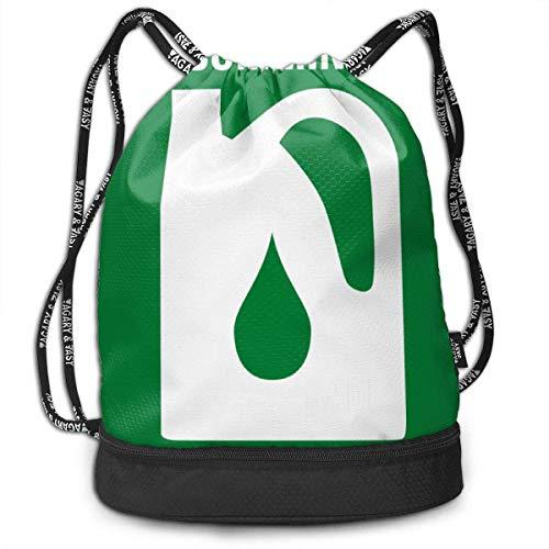 Rucksack mit Kordelzug Cummins Motoröl Logo Hübsche Kordelzug Rucksack Tasche Mehrzweck Bundle Sack Pack Tanztasche