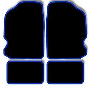 Citroen DS3 Car Mats  2009 Black Blue