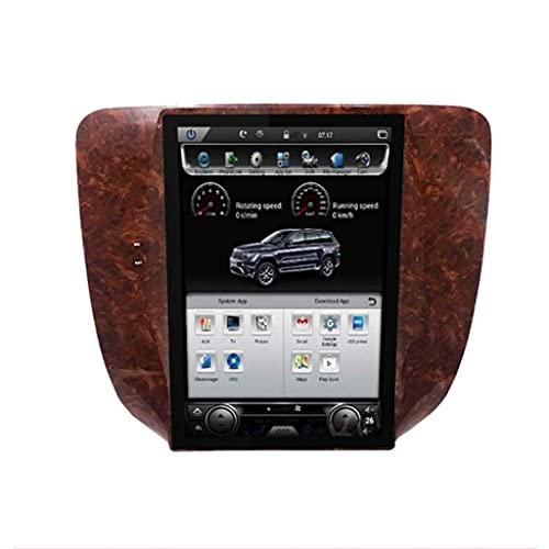 ZHANGYY Nav 12.1 Pulgadas Car Auto Play Estéreo Doble DIN Android - Aplicable Compatible con Chevrolet Silverado Suburban Avalanche GMC Sierra Yukon, Navegación GPS DSP Bluetooth