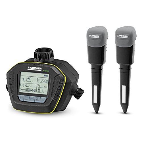 Kärcher Bewässerungscomputer SensoTimer ST 6 Duo eco!ogic (mit 2 Funksensoren)