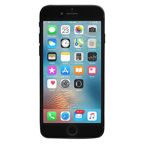 Apple iPhone 7, GSM Unlocked, 128GB - Black (Renewed)
