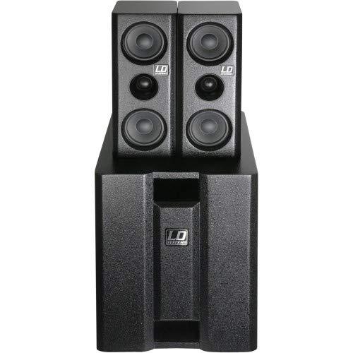 LD Systems LDDAVE8XS Dave Serie Multimedia System (20,3 cm (8 Zoll), 117 dB/mW, aktiv) schwarz