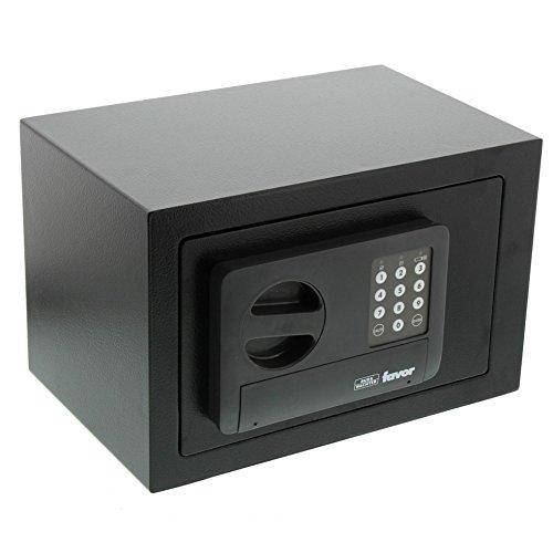 BURG-WÄCHTER Möbeltresor mit Elektronikschloss, Favor, 9,5 l, 4,5 kg, S3 E, schwarz