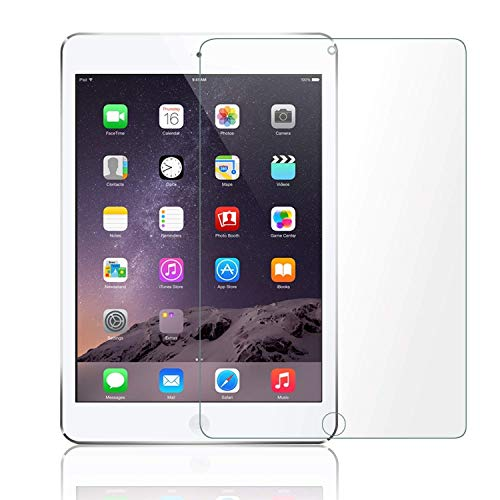 "M.G.R.J® Tempered Glass Screen Protector for iPad 2018 & 2017 9.7"" / iPad Pro 9.7 Inch/iPad Air 2 / iPad Air Compatible with Apple Pencil"