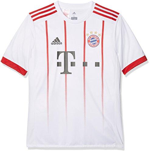 adidas Kinder Fc Bayern München UCL Trikot Replica, White/Fcbtru, 140