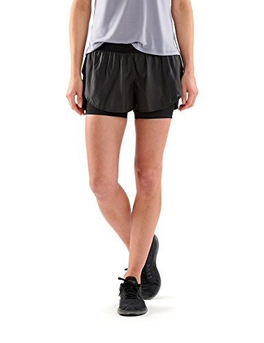 SKINS DNAmic T-Shirt Collant Superpos Women's Short(s) - XL