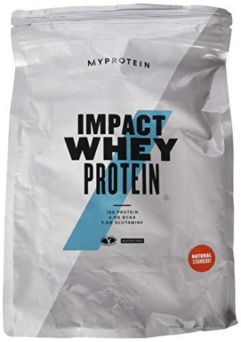 Myprotein Impact Whey Protein, 1 kg, natürliche Erdbeere