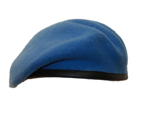 High Quality Officers Standard for all Ranks. - Béret - Homme United Nations Blue