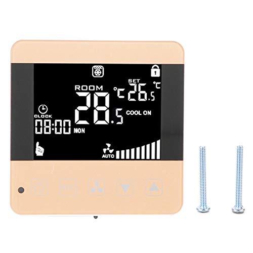 Regolatore di temperatura del termostato dell'unità del ventilconvettore del condizionatore d'aria centrale digitale LCD intelligente EVTSCAN(General Type)