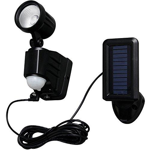 アイリスオーヤマ センサーライト LED ソーラー式 防犯 LSL-SBSN-100D
