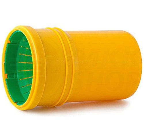 Tube de drainage coudé en T - 50 mm de diamètre - Bouchon ou réducteur de 72 à 100 mm de diamètre - tube de fond de canal haute température - Clapet anti-retour - 45 °, 67 °, 90 °, Verbindungsmuffe Dränage / HT-KG, Ø 72 - 100 / Ø 110 mm HT-KG Kelch (MKK-13)