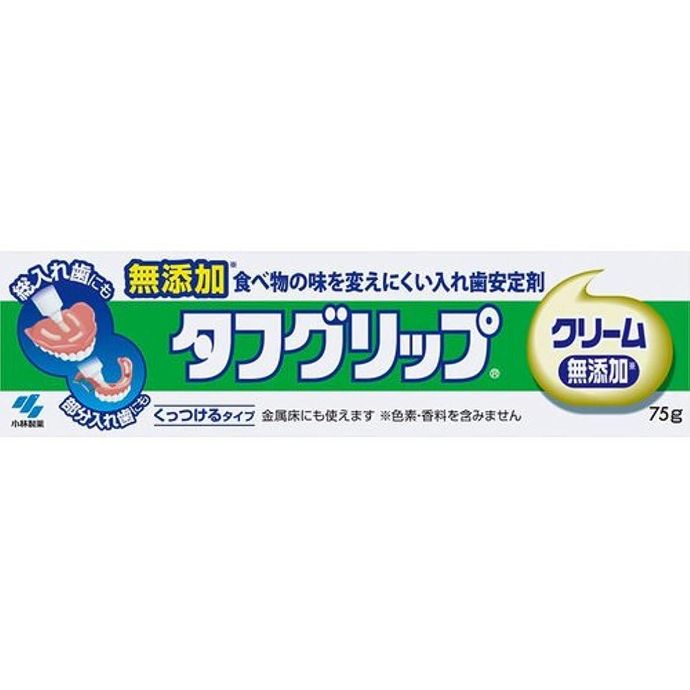 コンソール小川サリー【小林製薬】タフグリップクリーム 無添加 75g